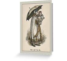Greetings-Kate Greenaway-Winter Greeting Card