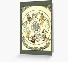 Greetings-Kate Greenaway-Circle of Children Greeting Card
