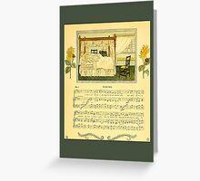 Greetings-Kate Greenaway-Waking Greeting Card