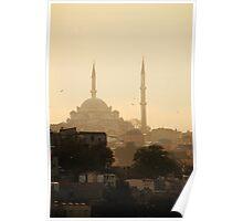 Sunset - Istanbul - Turkey Poster