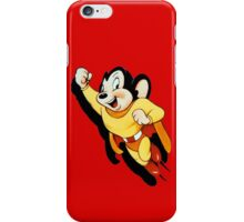 MIGHTY MOUSE iPhone Case/Skin