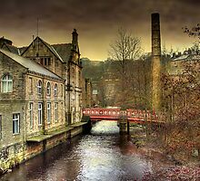 The Red Bridge.  by Irene  Burdell