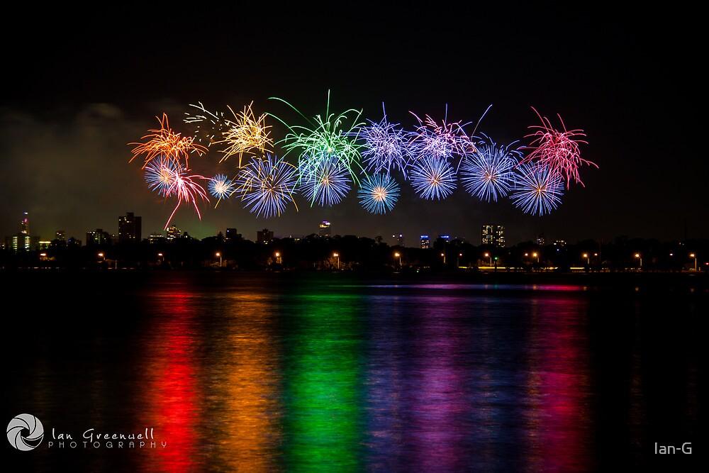 Aus Day Fireworks by Ian-G