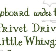 Harry Potter Hogwarts Letter Sticker