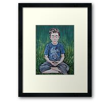 Jacob in the Empty Forever Framed Print