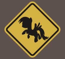 Beware of My Little Pony Road Sign Kids Clothes