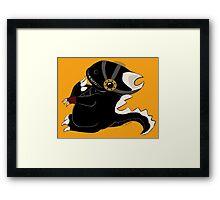 Steampunk Dino Framed Print