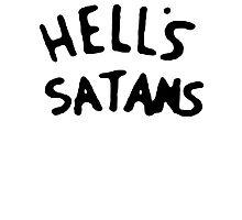 Hell's Satans Photographic Print