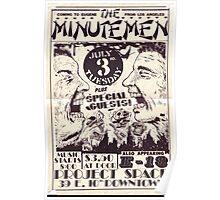 Minutemen poster Poster