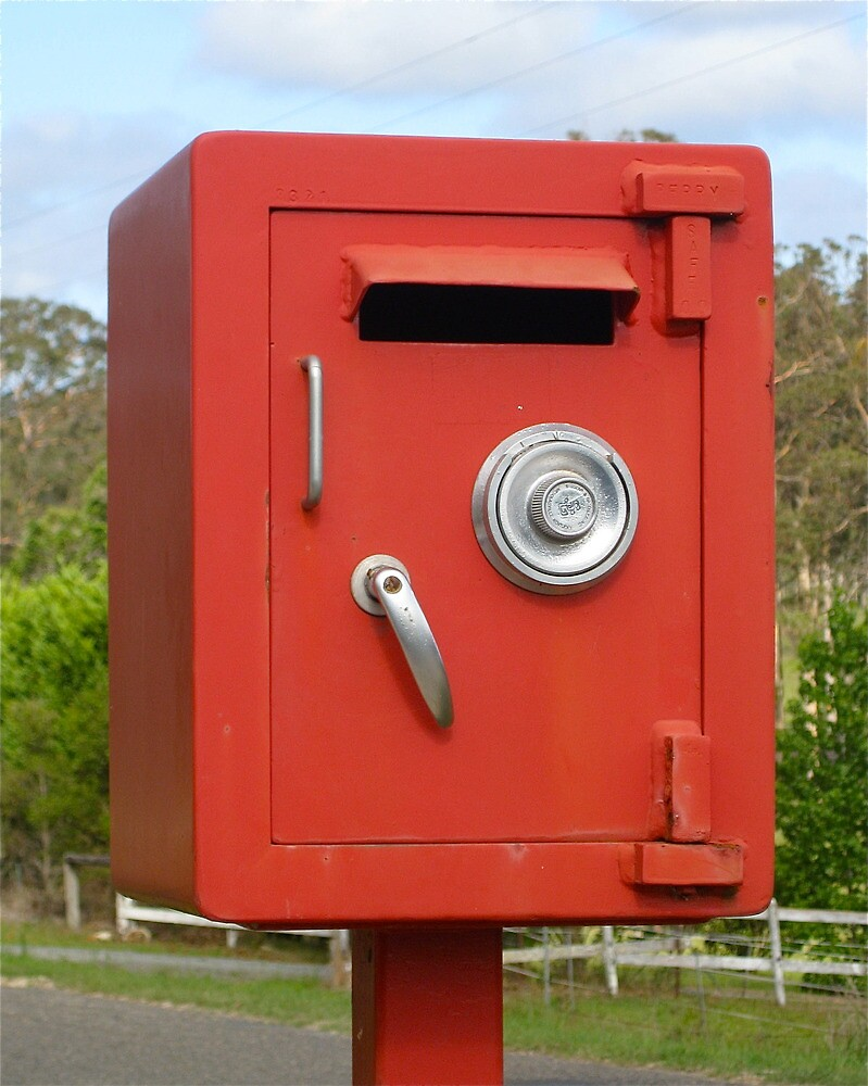 Safe Mailbox :) by Penny Smith