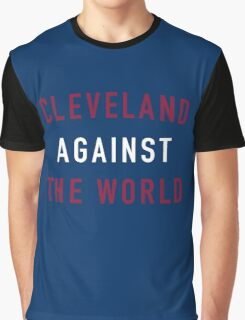 Cleveland Against the World - Cavs Blue Graphic T-Shirt