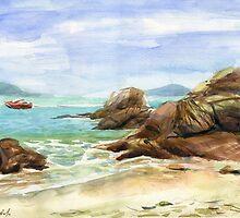 The beach by Irina Fominykh