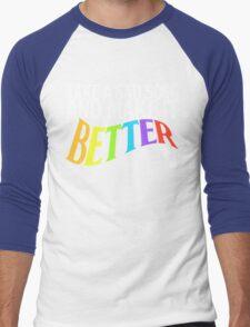 Take a Sad Song! Men's Baseball ¾ T-Shirt