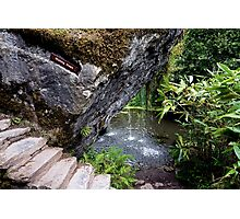 The Wishing Steps Photographic Print