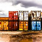 Containers by Barry Robinson