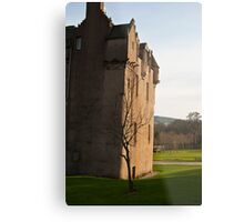 Cathes Castle at Sunset Metal Print