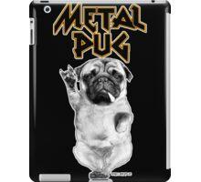 metal pug iPad Case/Skin