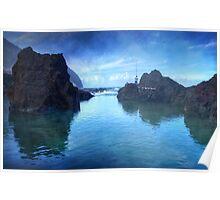 The Fisherman: Porto Moniz, Madeira Poster