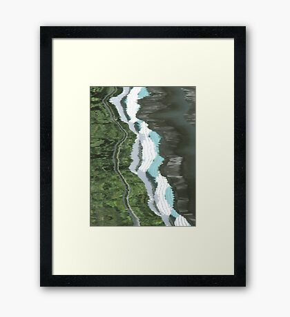 Exe Reflections - II Framed Print