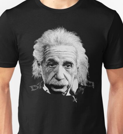 Albert Einstein E=mc² Illustration Unisex T-Shirt