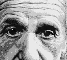 Albert Einstein E=mc² Illustration Sticker