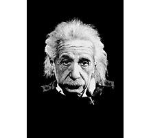 Albert Einstein E=mc² Illustration Photographic Print