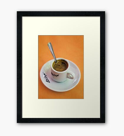 Perfect Cup of Coffee Framed Print