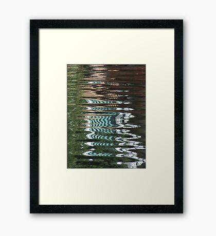 River Serpent - III Framed Print
