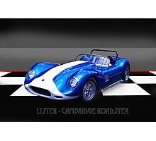 Lister - Cambridge Roadster Photographic Print