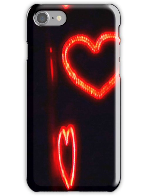 Hearts in the Night..I-phone case by MaeBelle