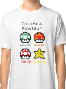 Mario Mushrooms Classic T-Shirt