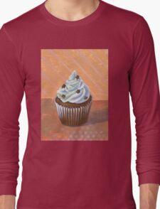 Chocolate Stars Cupcake Long Sleeve T-Shirt