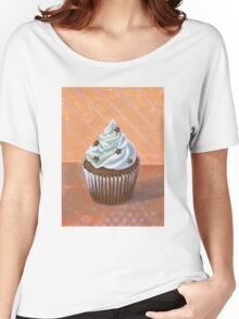 Chocolate Stars Cupcake Women's Relaxed Fit T-Shirt