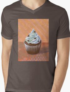 Chocolate Stars Cupcake Mens V-Neck T-Shirt