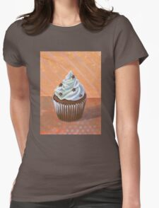 Chocolate Stars Cupcake Womens Fitted T-Shirt