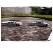 Toy Car High Speed Chase Poster