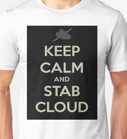 Keep Calm & Stab Cloud Unisex T-Shirt