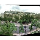 Paris street panormaic by DiiGiiTAL