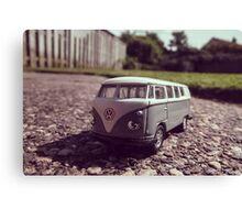Super Mini VW Van Canvas Print