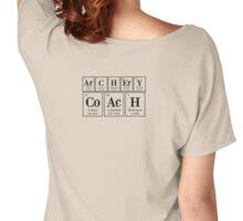 ArCHErY CoAcH (elements,transparent,BIG) Women's Relaxed Fit T-Shirt
