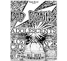 Bad Brains concert Photographic Print