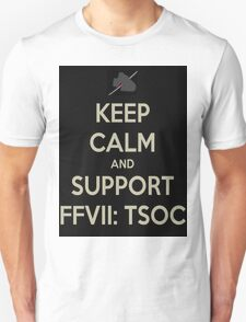 Keep Calm & Support FFVII: TSOC T-Shirt