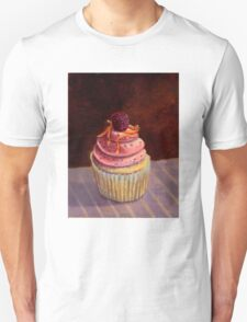 Purple Raspberry Cupcake Unisex T-Shirt