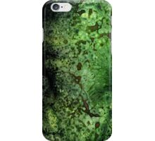 Deep in the green iPhone Case/Skin
