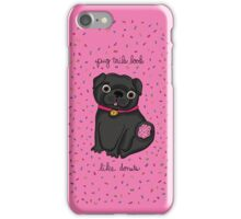Pug Tails Look Like Donuts iPhone Case/Skin