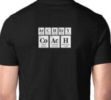 ArCHErY CoAcH (elements, white, BIG) Unisex T-Shirt