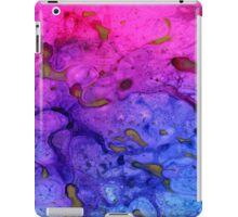 From blue to pink iPad Case/Skin