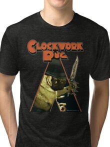 a clockwork pug Tri-blend T-Shirt