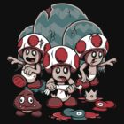 Trouble in the Mushroom Kingdom by powerpig