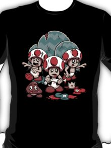 Trouble in the Mushroom Kingdom T-Shirt